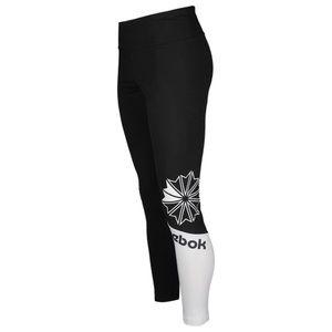 Reebok Black & White Classic Block Active Leggings